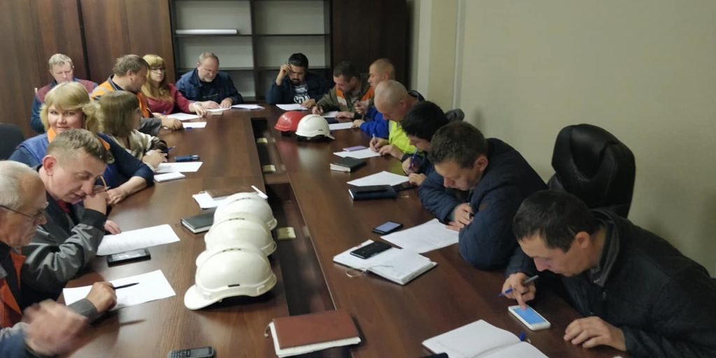 Обучение и проверка знаний на заводе СТАЛТЕХ
