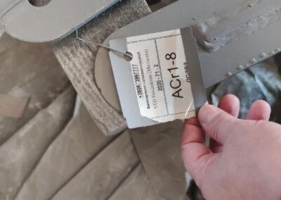 Элементы металлического каркаса теплицы