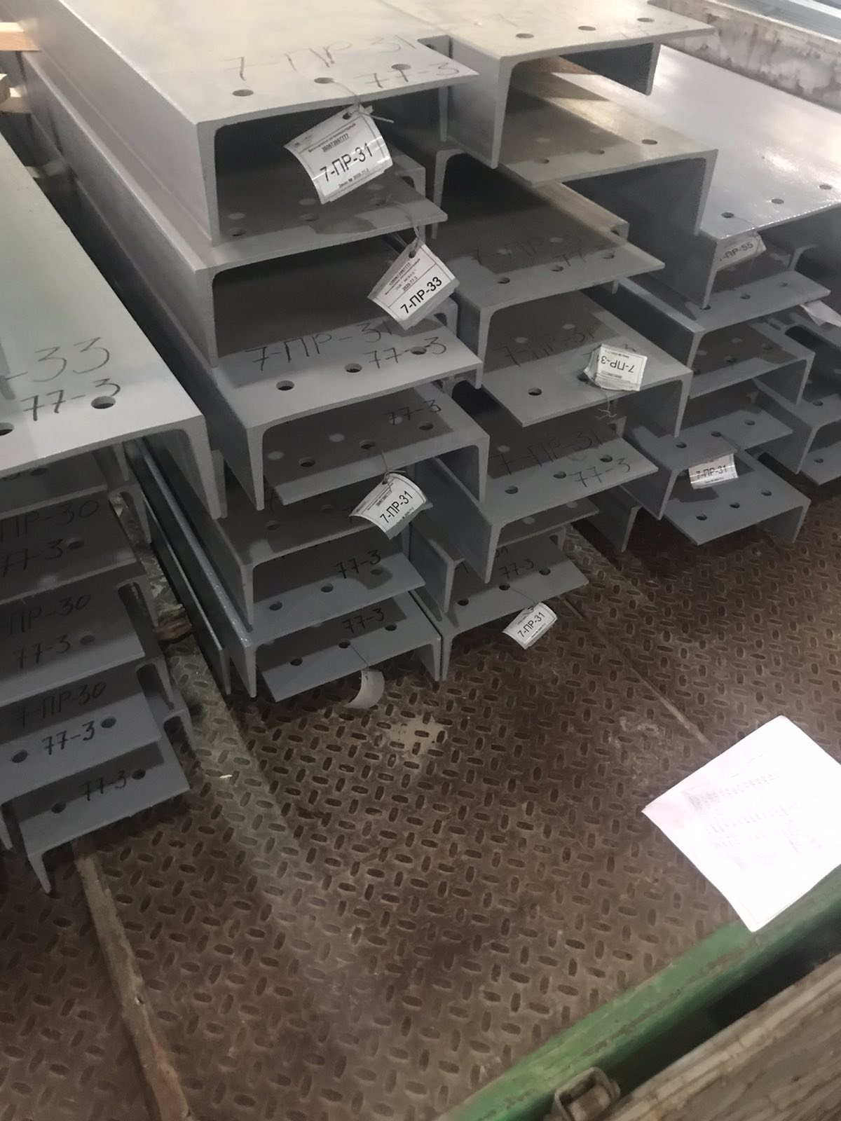 Металлические конструкции лифтовых шахт для Скайлифта